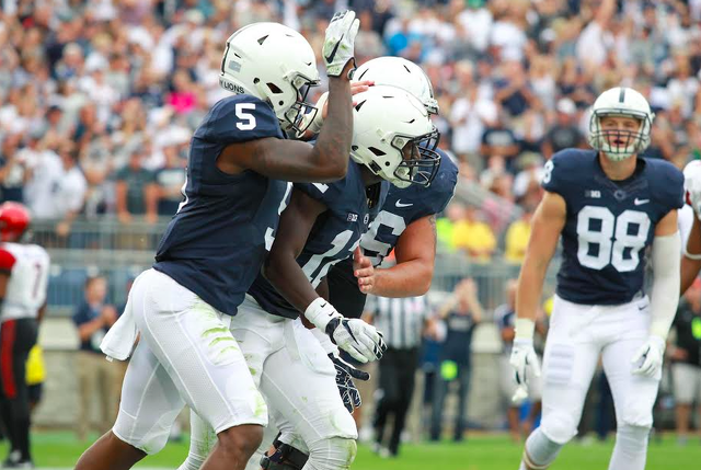 Penn State Football: Receivers Set For Another Rainy Battle This Weekend